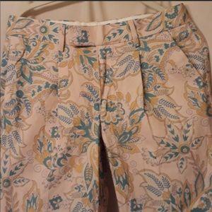 ASOS Pink Paisley Dress Pants